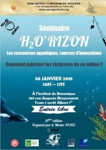 Séminaire H2O'RIZON à Montpellier